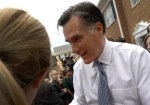 Romney Visits GOP Phone Bank In Virginia