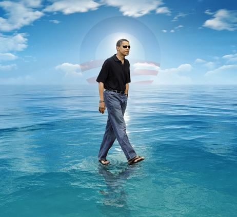 Obama on Water
