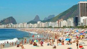 Rio's Copacabana Beach