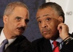 Holder and Sharpton