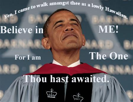 Obama at Banard College