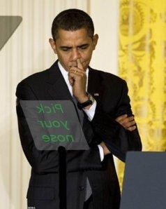 Obama-Pickyournose