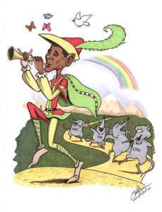 Obama Pied Piper