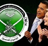Obama Clinton and Muslim Brotherhood