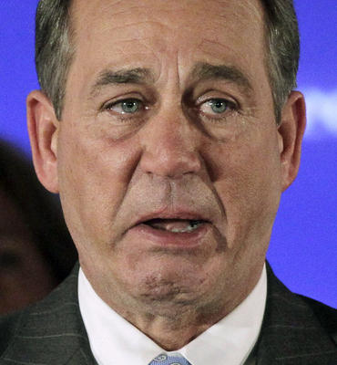 John Boehner Crying