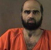 Maj Hasan with beard