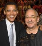 Obama Wright photo