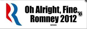 Romney all right