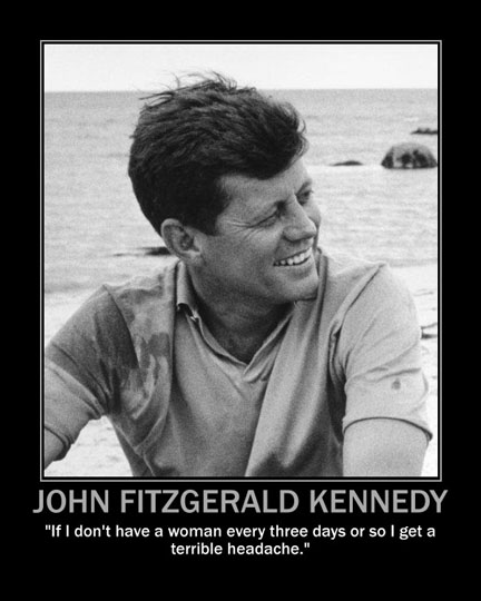 JFK and women