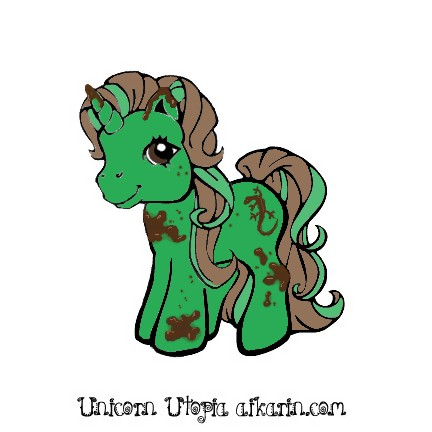 green unicorn