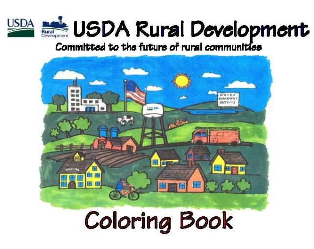 USDA RD Coloring Book Cover