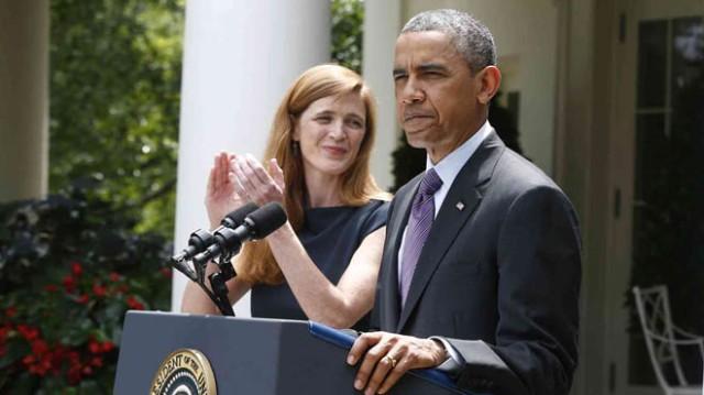 Barack Obama, Susan Rice, Tom Donilon, Samantha Power