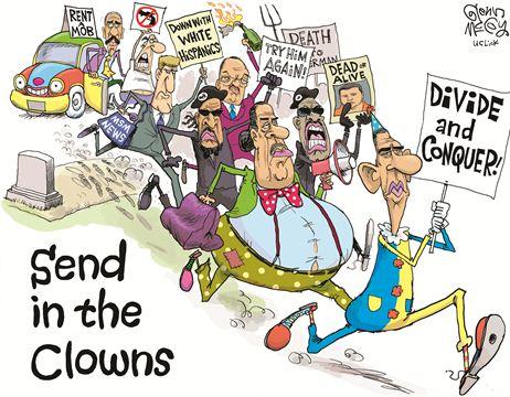 ObamaRaceClown