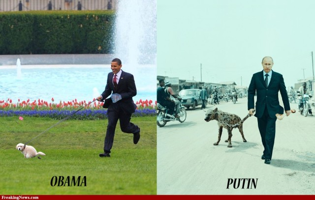 Obama FP outsourced to Putin