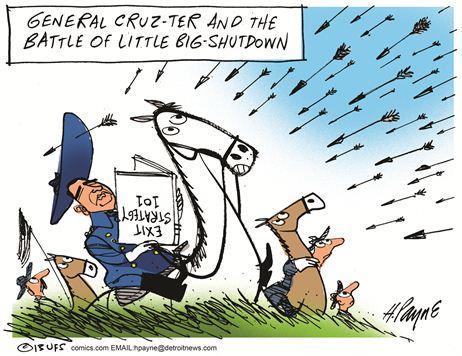 Cruz at little big horn