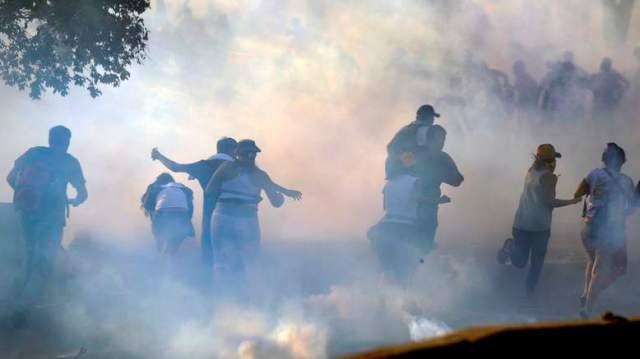 VENEZUELA-POLITICS-OPPOSITION-DEMO