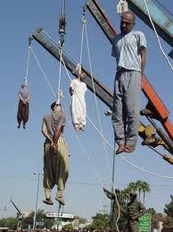 Iran hangings by crane