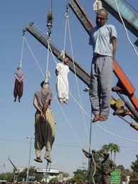 Iran hangings by crane
