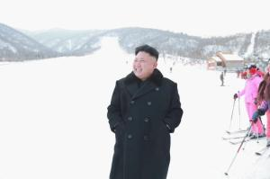 North Korea ski resort