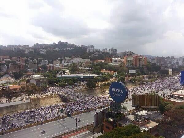 Rally in Caracas