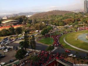 Venezuela counterprotests by oil workers