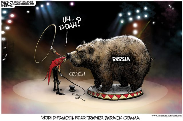 Obama famous bear trainer