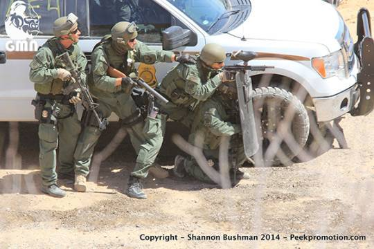 Gestapo at Bundy Ranch