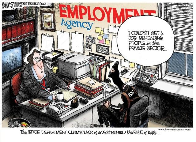 jobs for jihadists