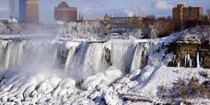 Hell Niagara Falls freezes over