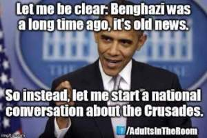 Obama - crusades
