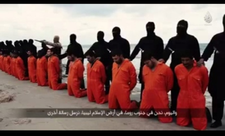 Coptic Christians beheaded