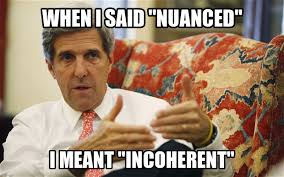 Kerry nuanced
