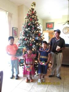 Daniel and family Xmas 2015