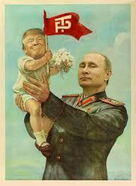 Trump and Putin as seen by the lamebrain media